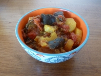 Ratatouille indienne express